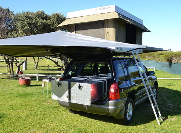 Explore the unsealed tracks South Africa Namibia Botswana and more in our Grip AWD Offroad C&ers! With an electric rooftop tent and all the conveniences ... & Campervan Hire